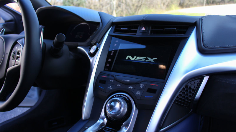 Acura NSX interior photo