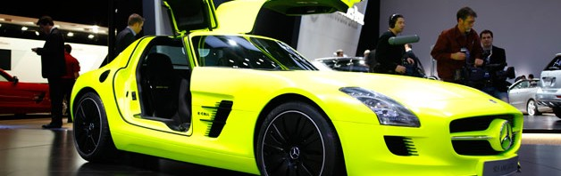 Sx-Z | SLS AMG E-Cell Roadster
