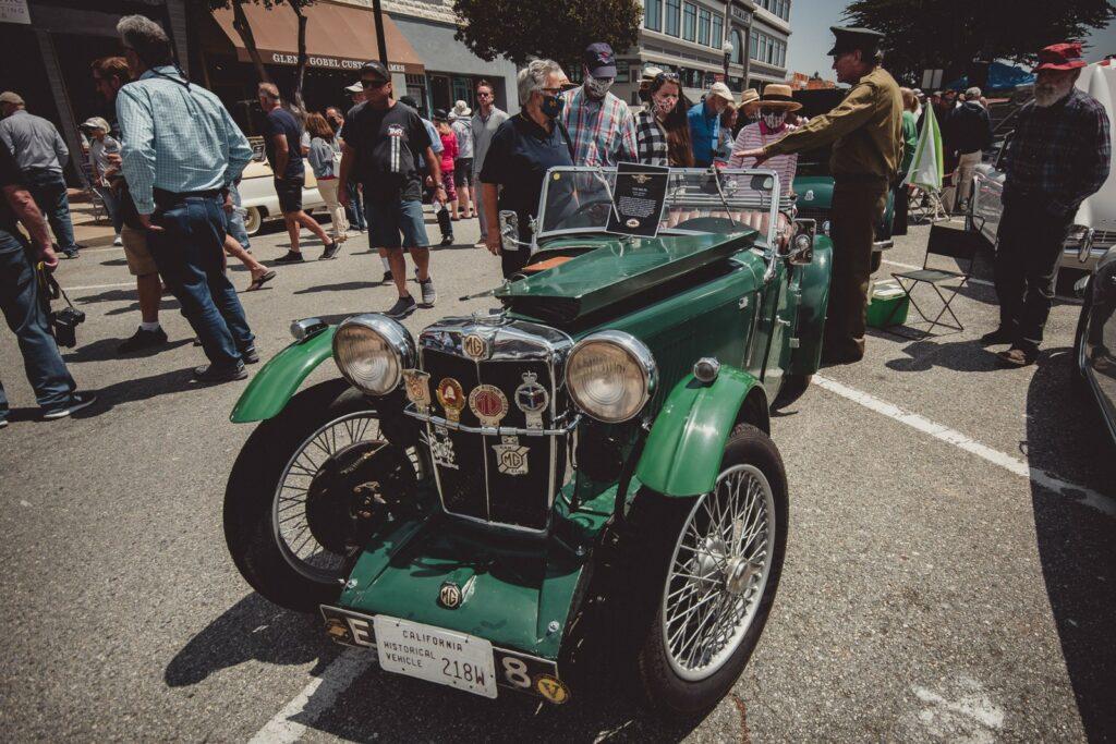 1934 MG P-Type Midget