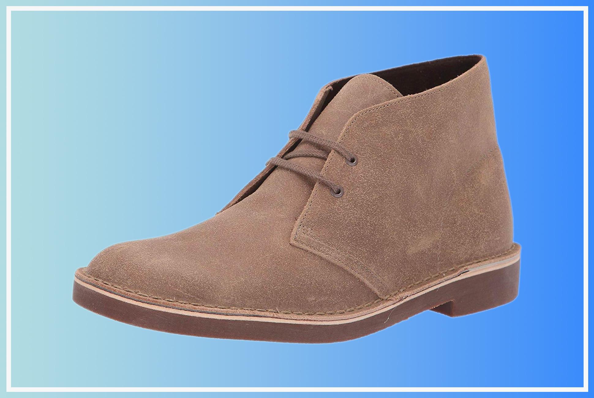 Kjøp Beste menn Clarks Støvler Mote + Clarks Bushacre 2 Chukka