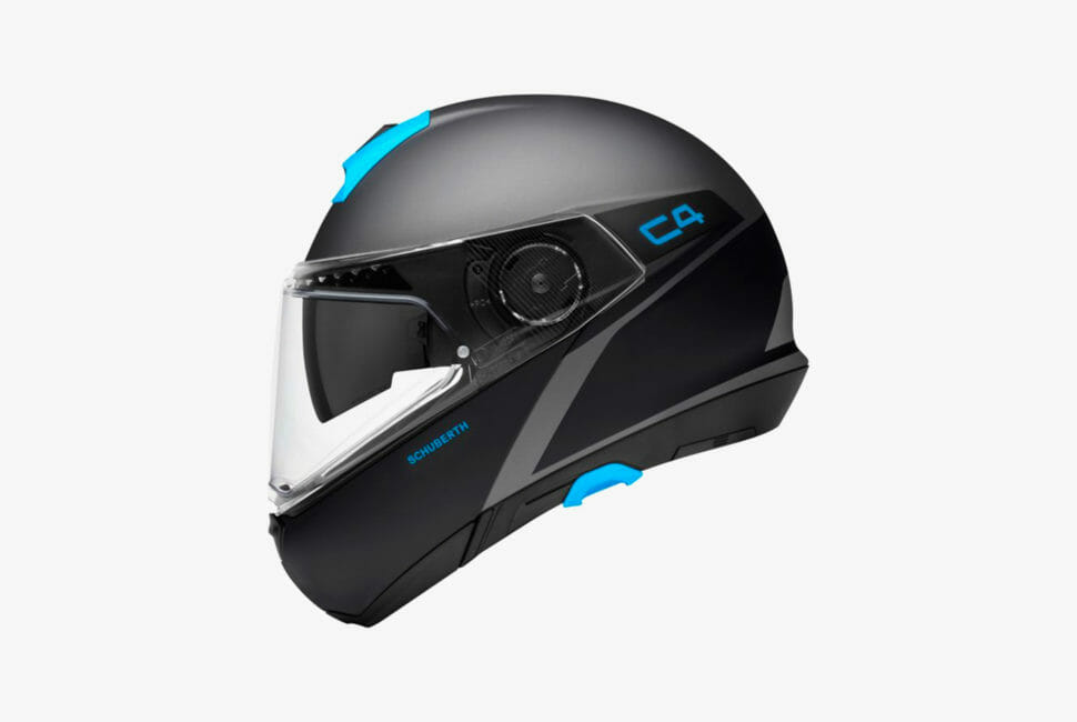 schubert c4 spark helmet motorcycle quiet