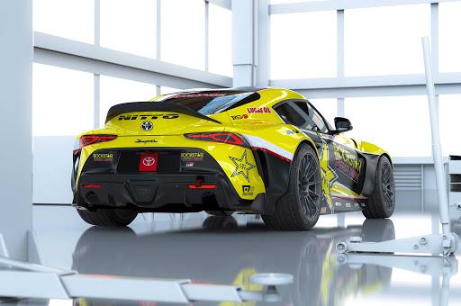 Papadakis Racing Supra GR Rear