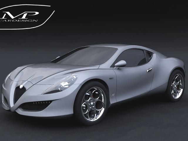 Sx-Z | Alfa Romeo 4C Concept Design by MPcardesign