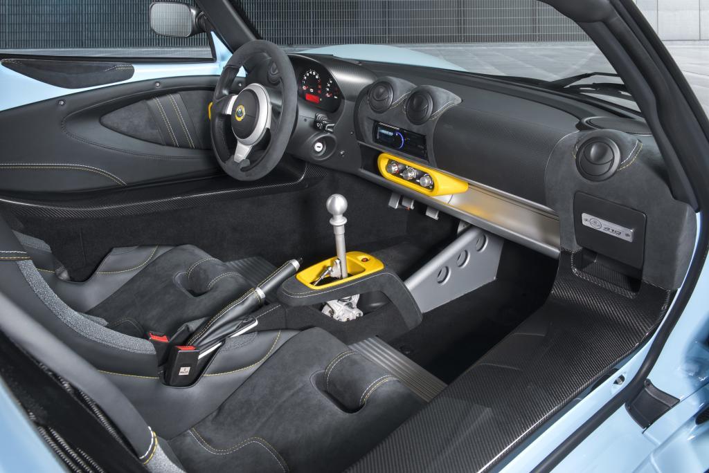 Lotus Exige Sport 410 Interior