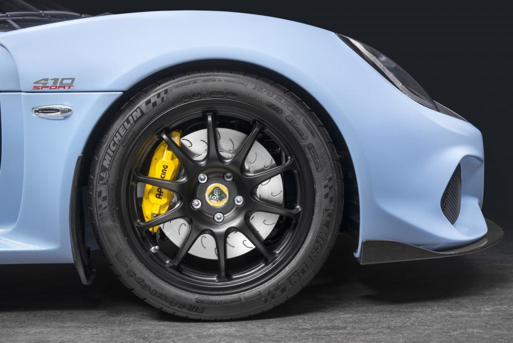 Lotus Exige Sport 410 wheel