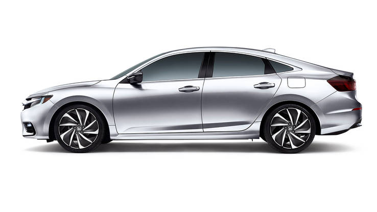 2019 Honda Insight hybrid sedan side