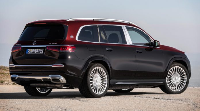 Mercedes-Maybach GLS 600 Red