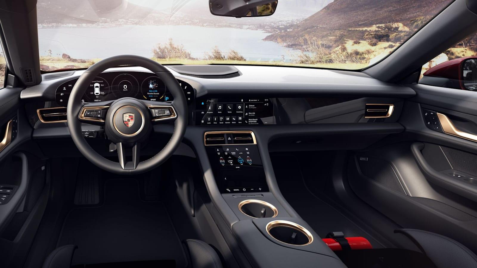 Porsche Taycan 4 Cross Turismo Interior