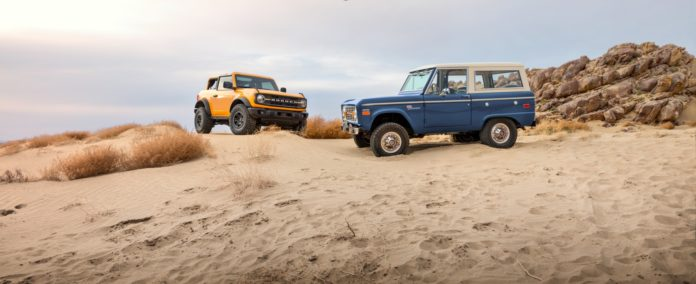 Ford Bronco Old and New