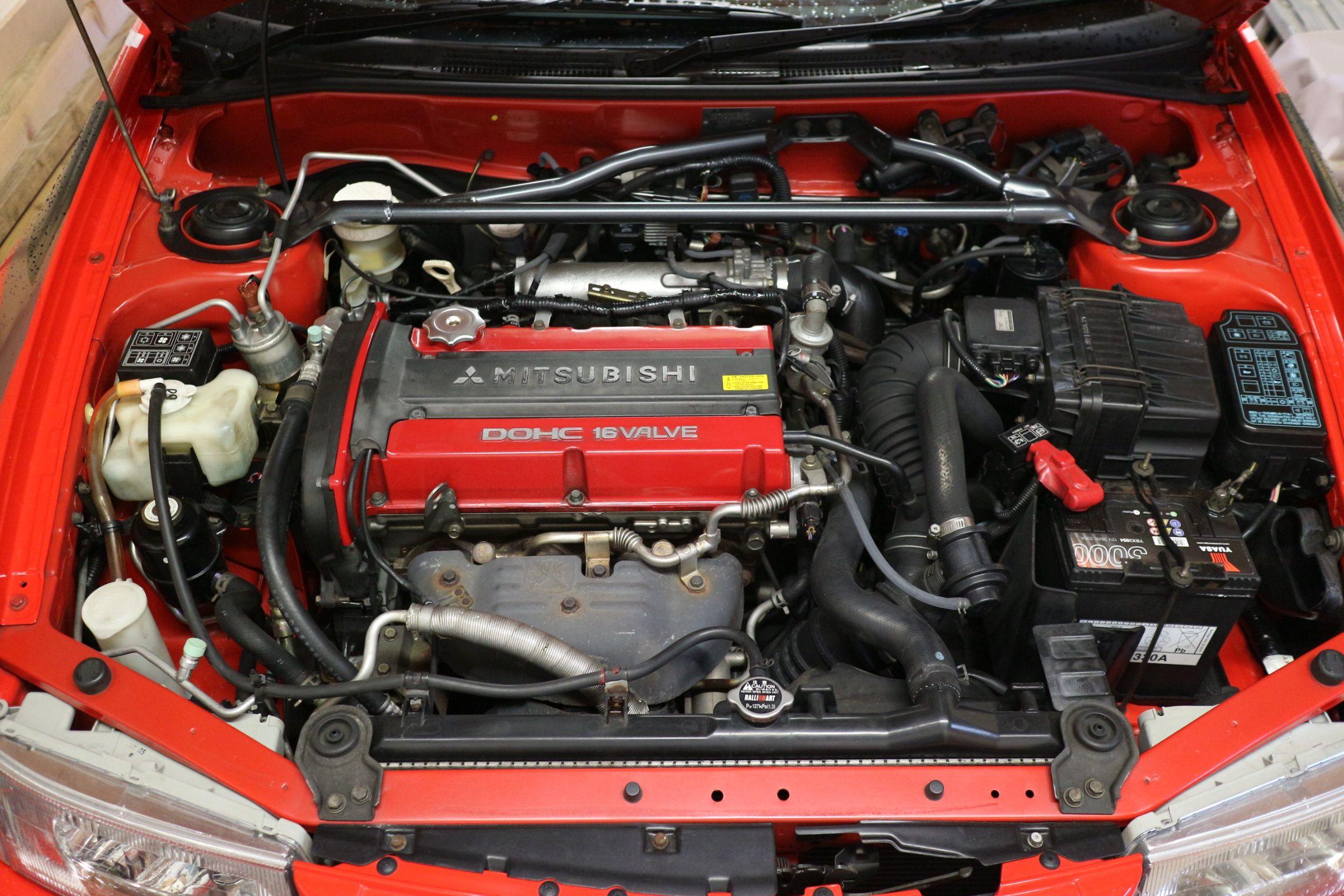 Mitsubishi 4G63T engine