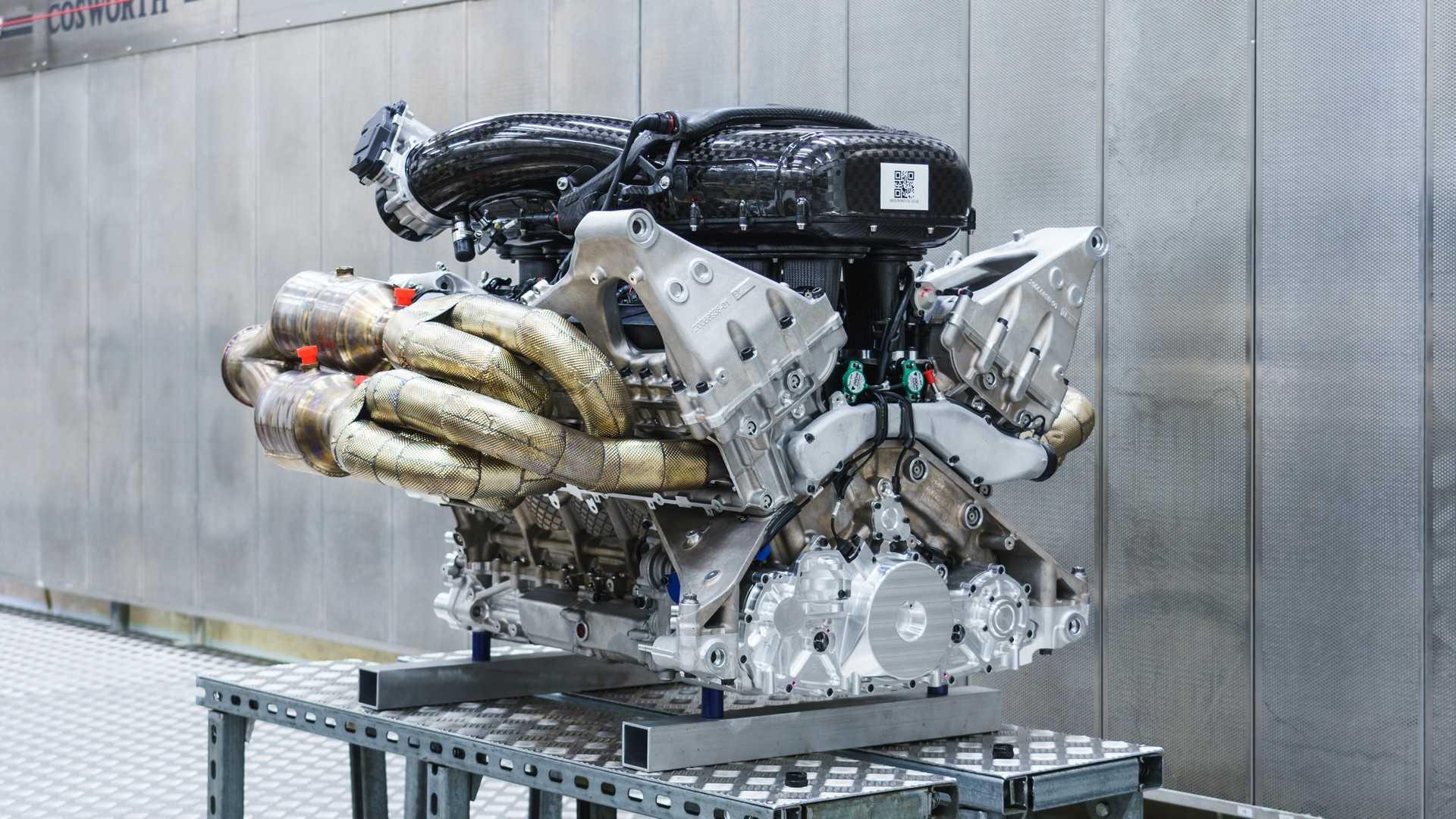 Aston Martin NA V12 Engine