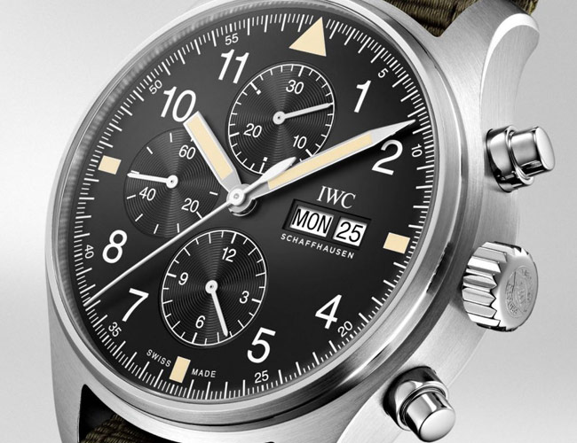 You Can Only Buy IWC's New Vintage-Style Chronograph Online