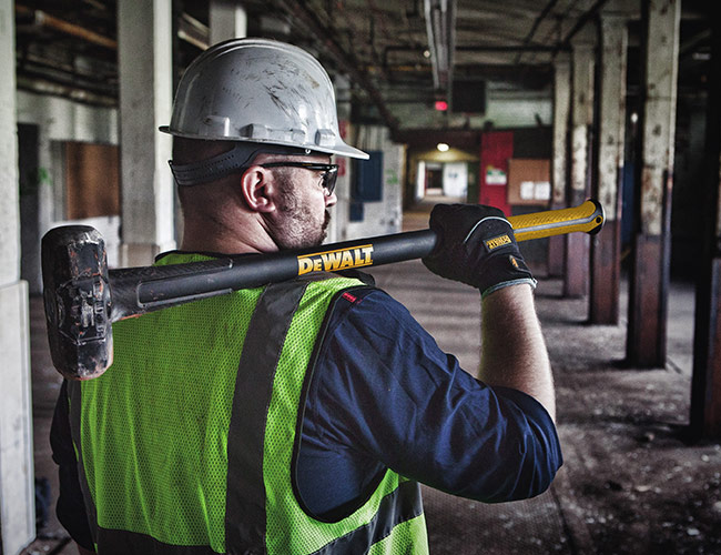 DeWalt's New Sledgehammers and Axes Are Made with Carbon Fiber
