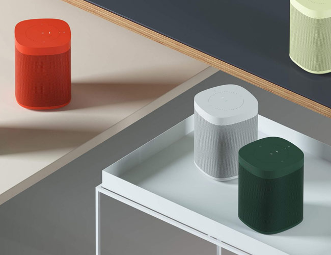 Sonos Is Releasing New Colors of Its Sonos One Speaker — Same Sound, Fresh Look