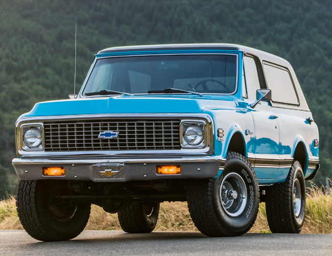 The New Chevy Blazer Is an Embarrassment Compared to This Stunning 1972 Example