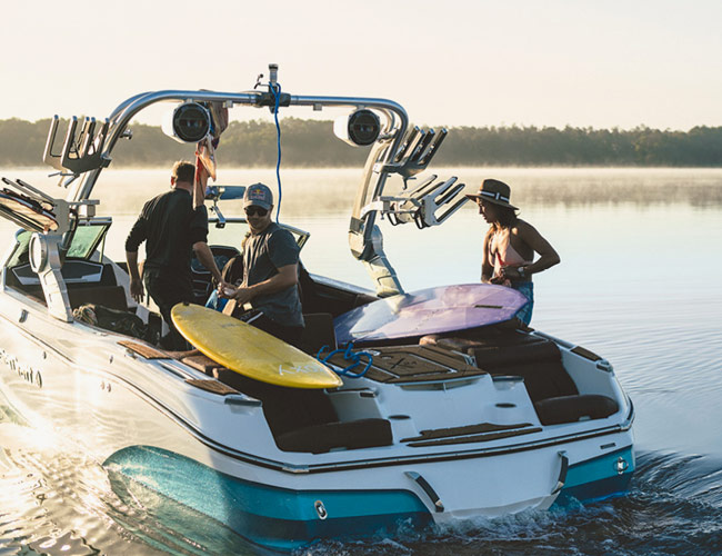 MasterCraft's New Boat Will Let You Surf Anywhere