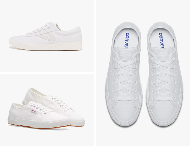 8 White Sneakers to Wear All Summer Long
