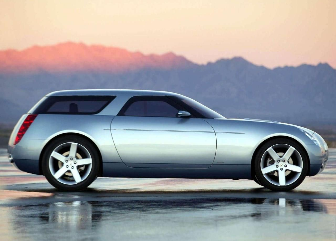 The 2004 Chevy Nomad Concept car.