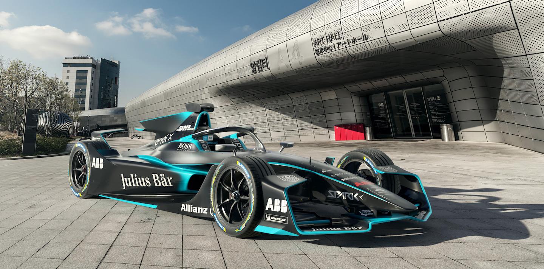 FIA Formula-E 2020 World Championship Spec car, from