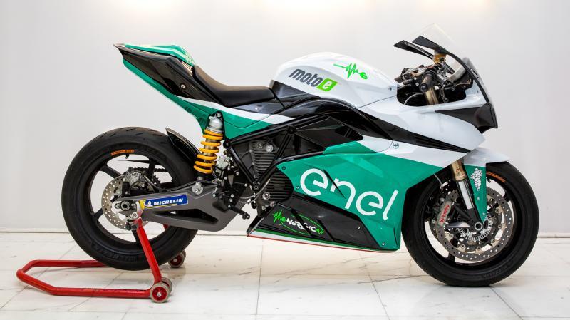 Energica Ego Corsa Superbike
