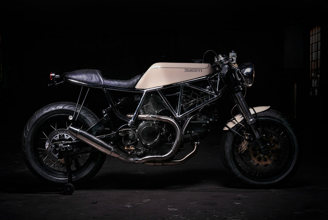 Ad Hoc Ducati 900 Ss Cafe Racer