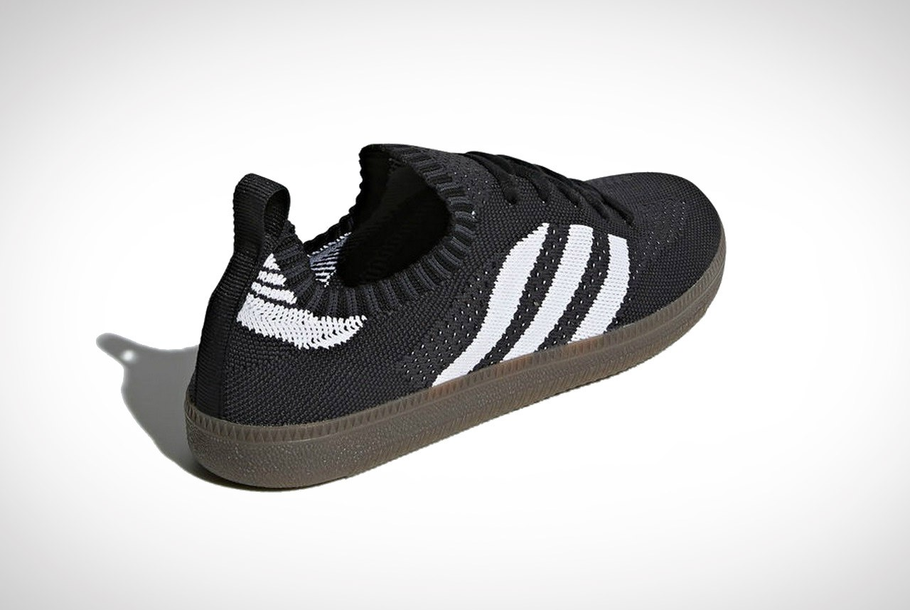 samba sock primeknit shoes white