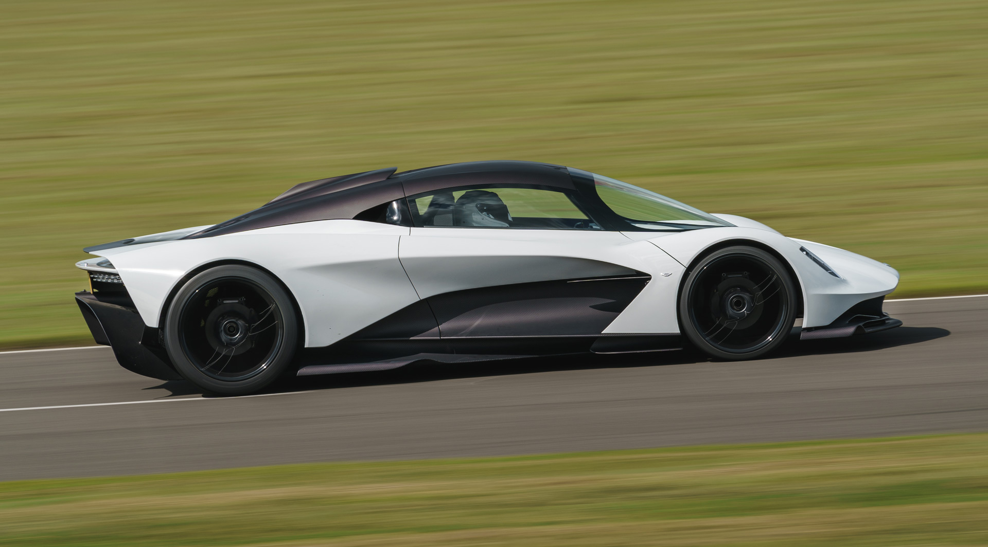 Aston Martin Valhalla Testing