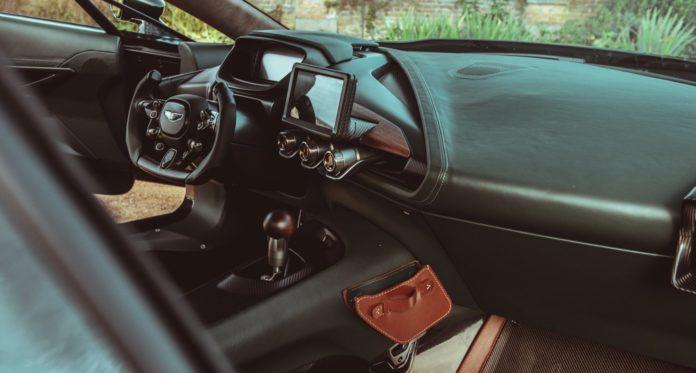 Aston Martin Victor Interior