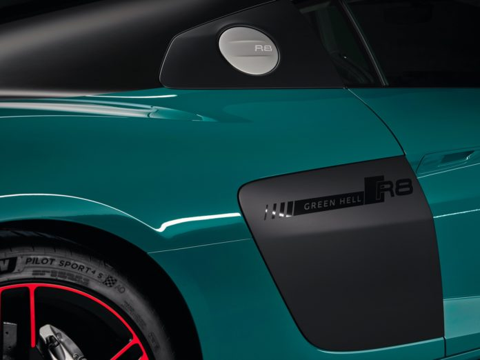 Audi R8 Green Hell Side Design