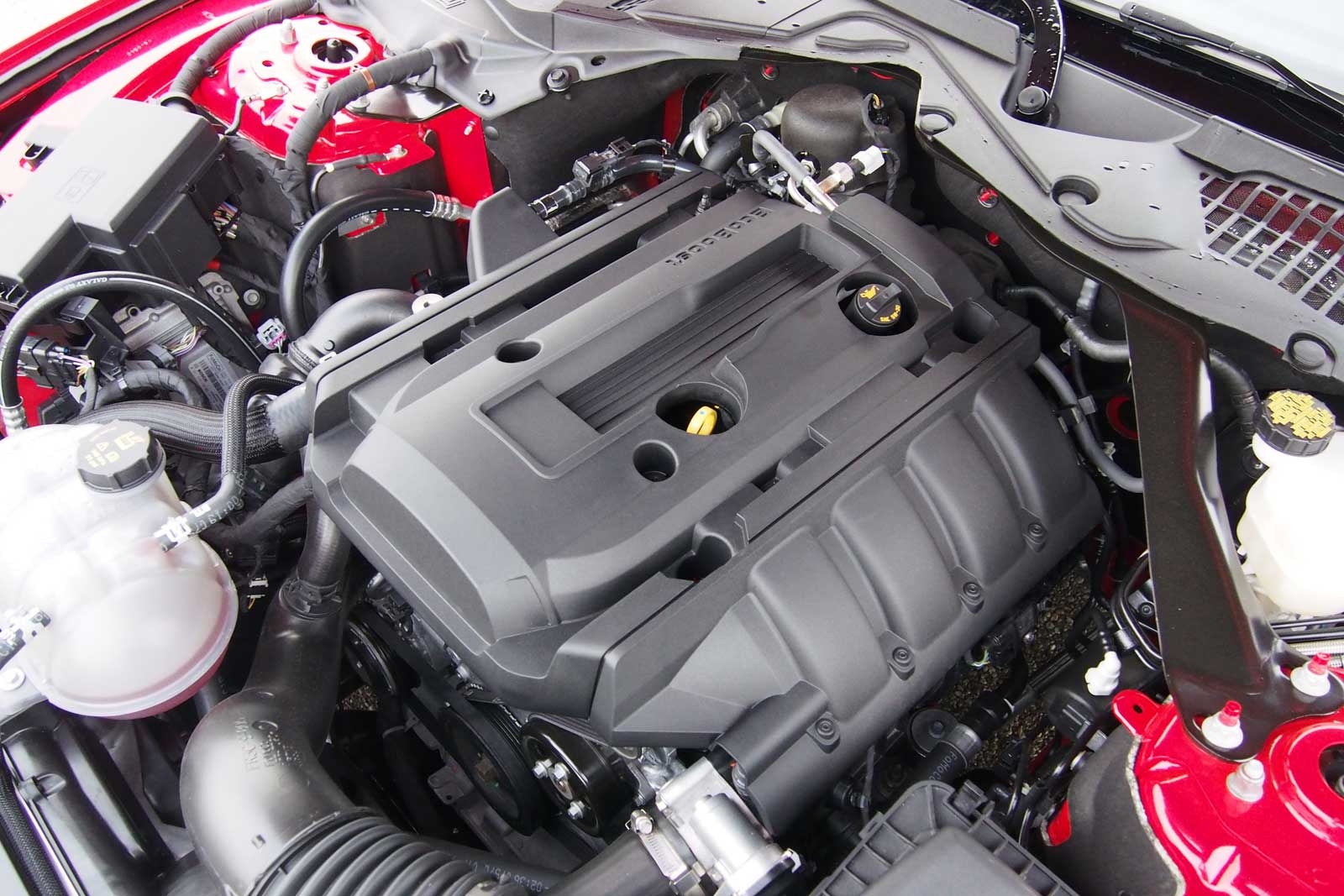 Ford Mustang EcoBoost Engine