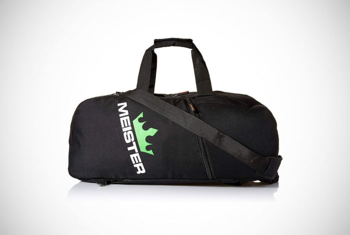 Meister MMA Vented Convertible Backpack Duffel Bag