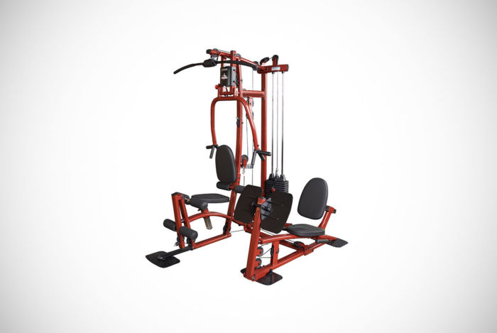 Fitness Factory Home System Including Leg Press