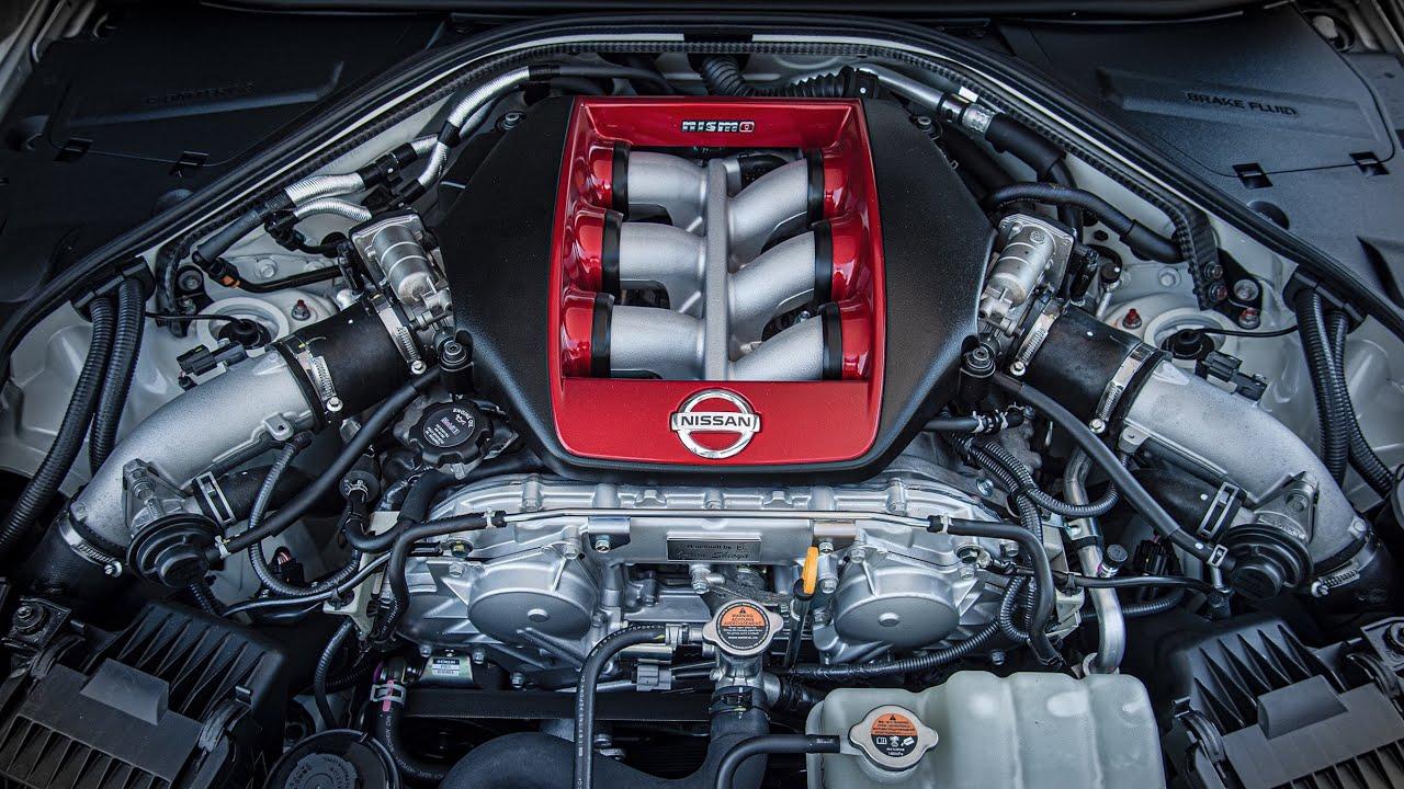 Nissan VR38DETT engine