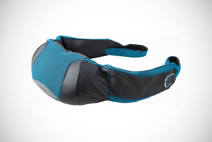 Brookstone 2-in-1 Tapping and Shiatsu Neck and Shoulder Massager