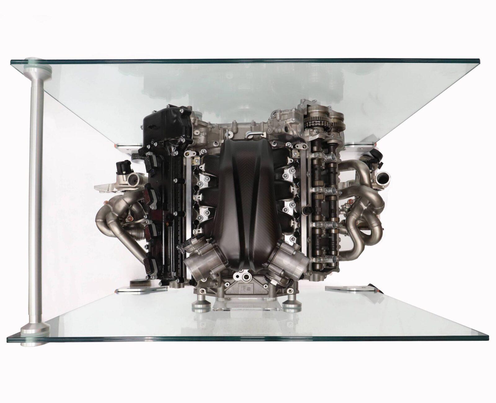A view of a McLaren M840T w/ eMotor