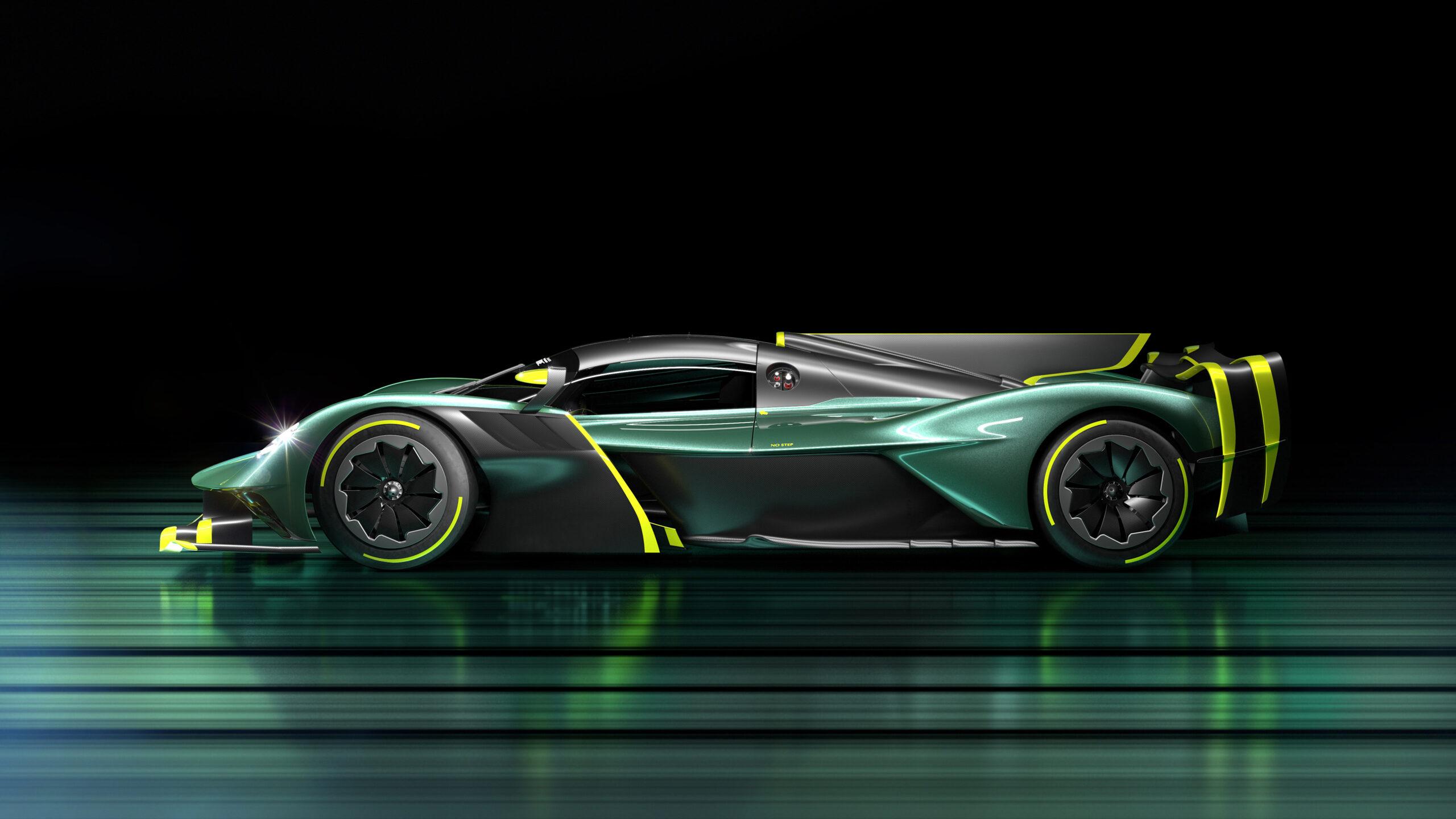 Aston Martin Valkyrie AMR Pro Side Profile