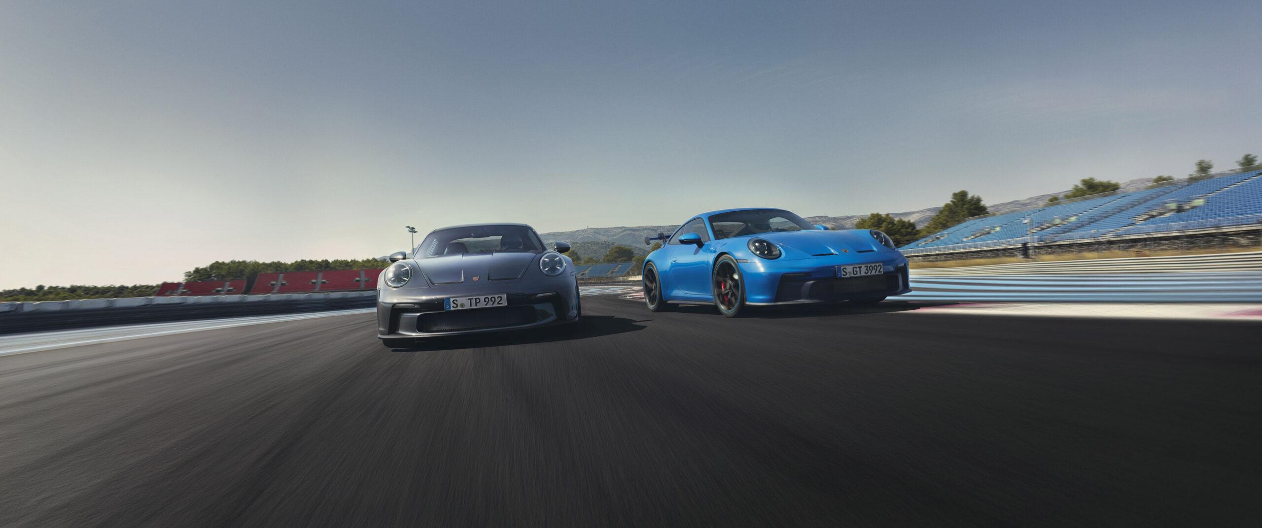 Porsche 911 GT3 and GT3 Touring