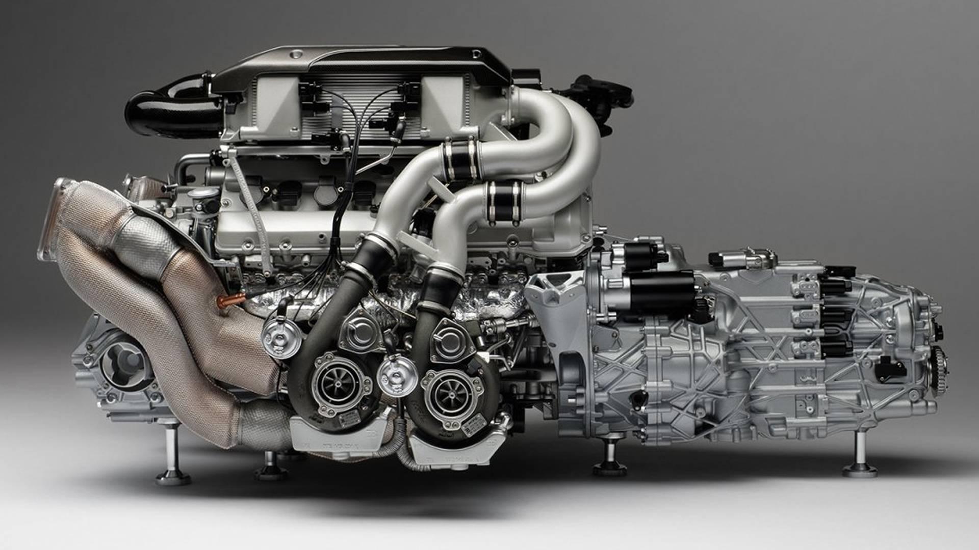 Bugatti 8.0L Quad-Turbocharged W16