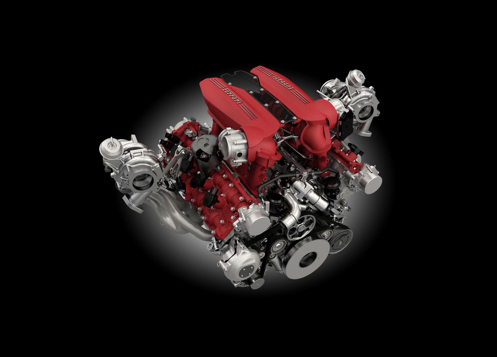 Ferrari F154 Engine