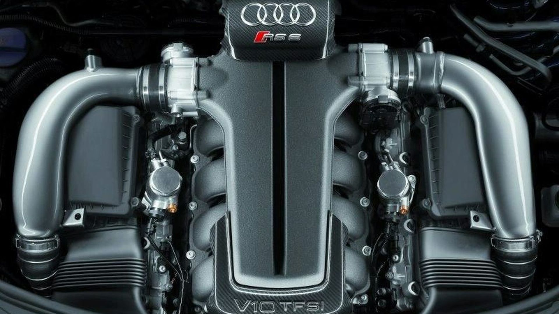 Audi 5.0L V10 Biturbo Engine