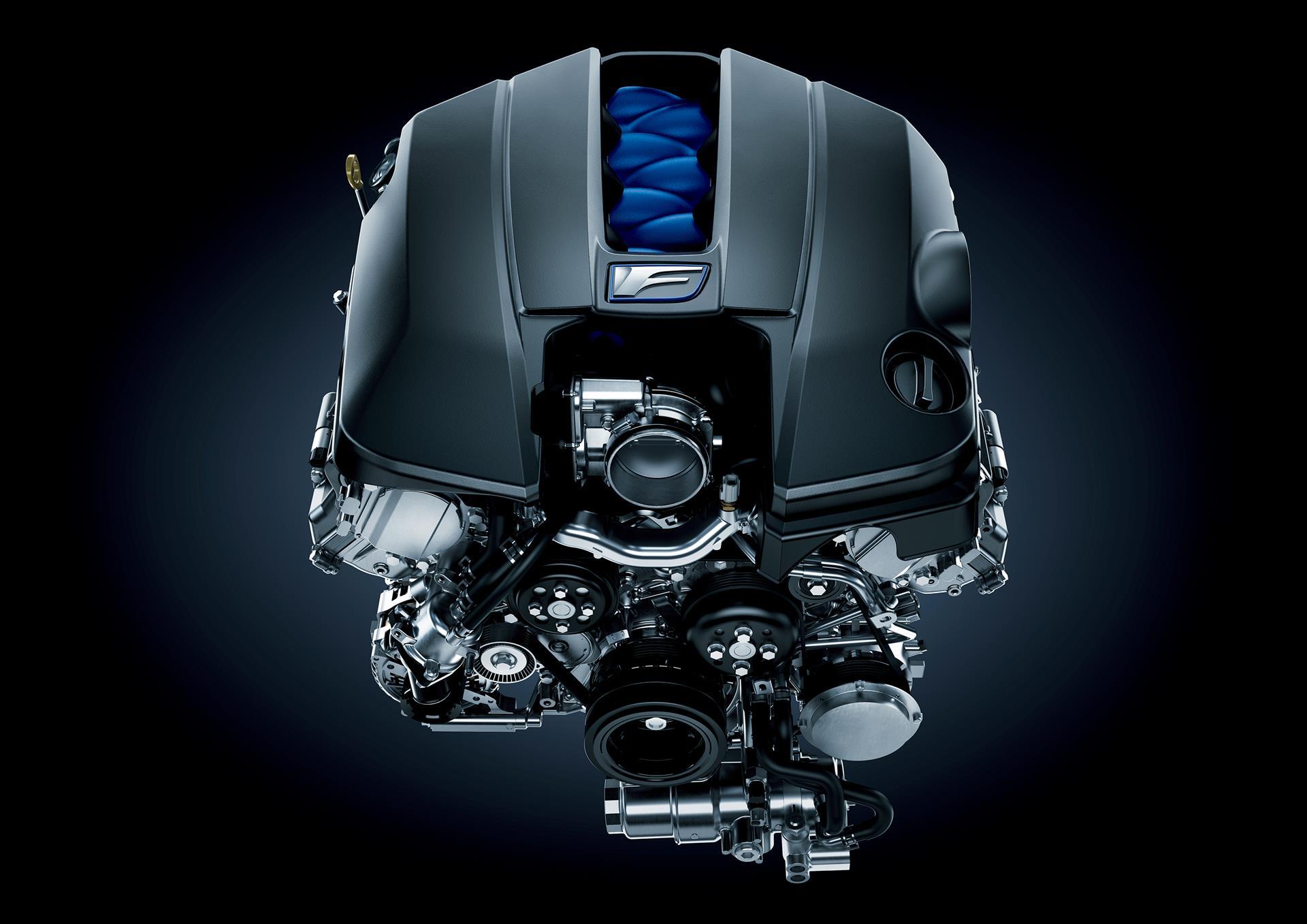 Lexus 2UR-GSE Engine