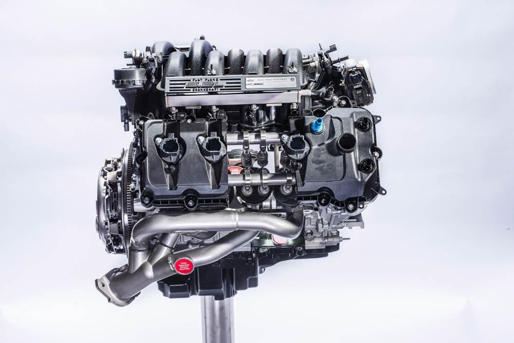 Ford 'Voodoo' Flat-Plane Engine