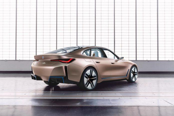 BMW Concept i4 Rear Side