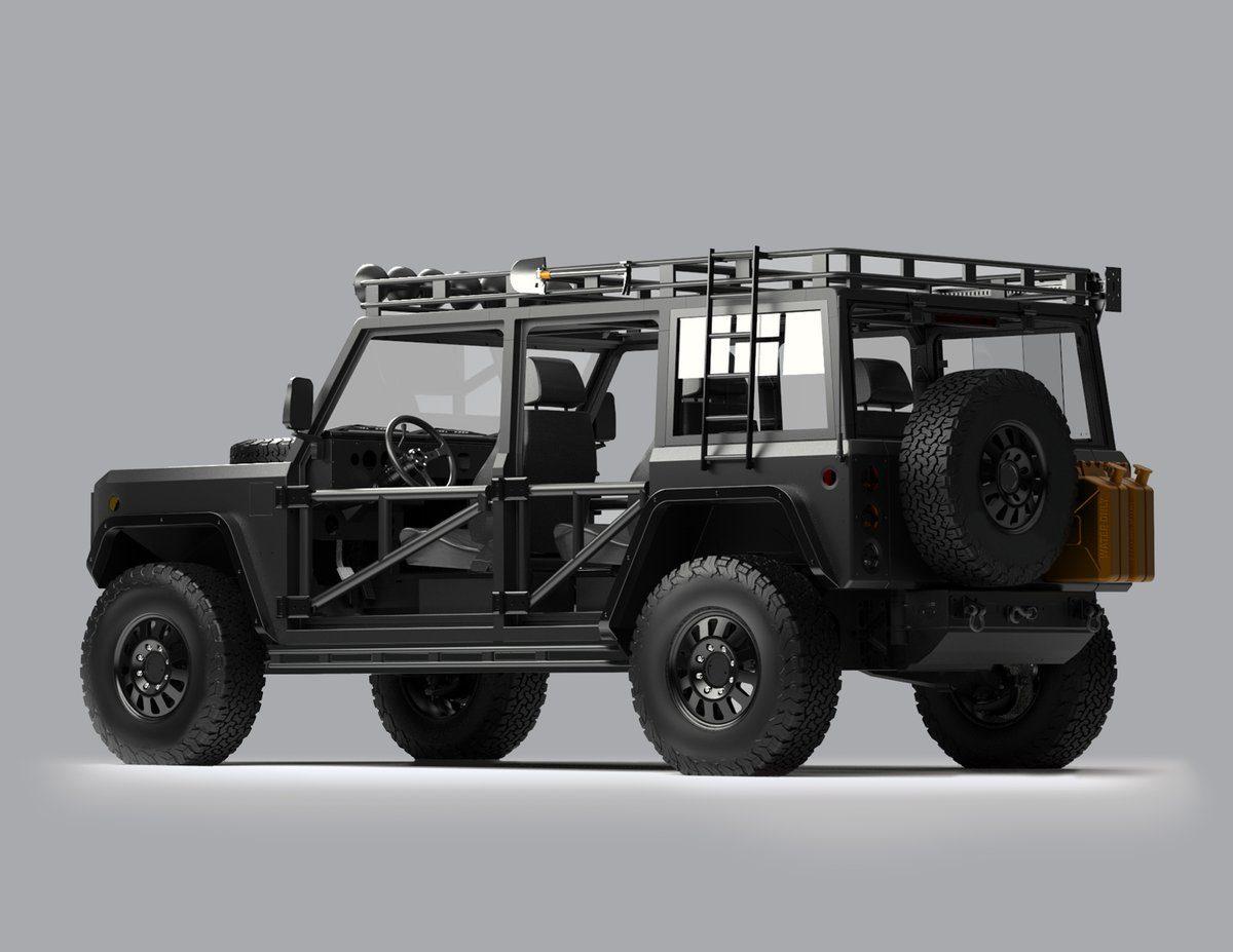 Bollinger Motors Off-Road Upgrades