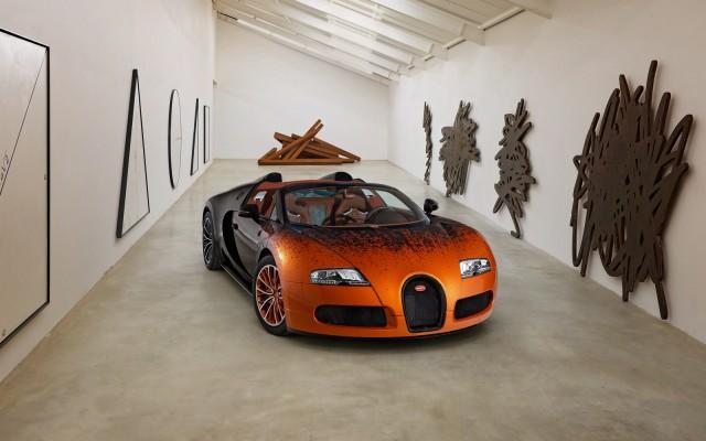 Bugatti Veyron Grand Sport Venet   Sx-Z