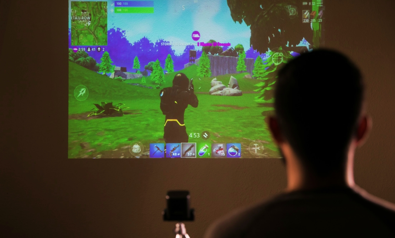 Projector Gaming