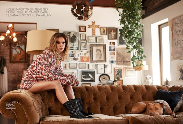 Sx-Z | Supermodel Erin Wasson for S Moda Magazine