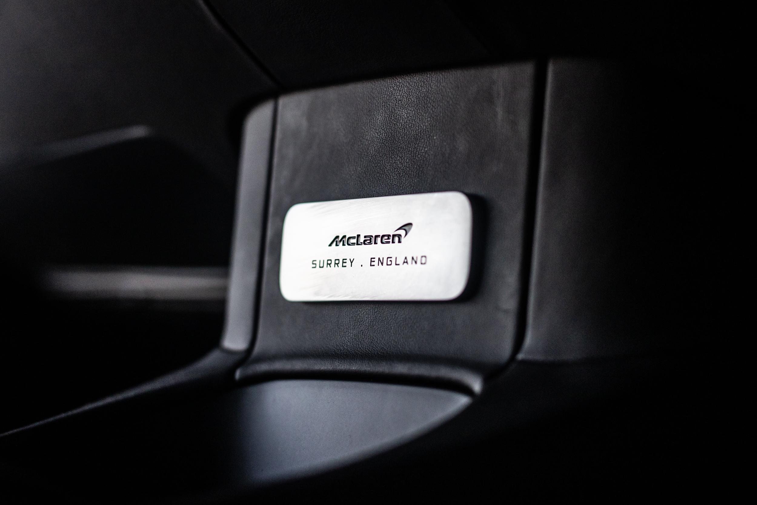 2021 McLaren Artura Production Badge