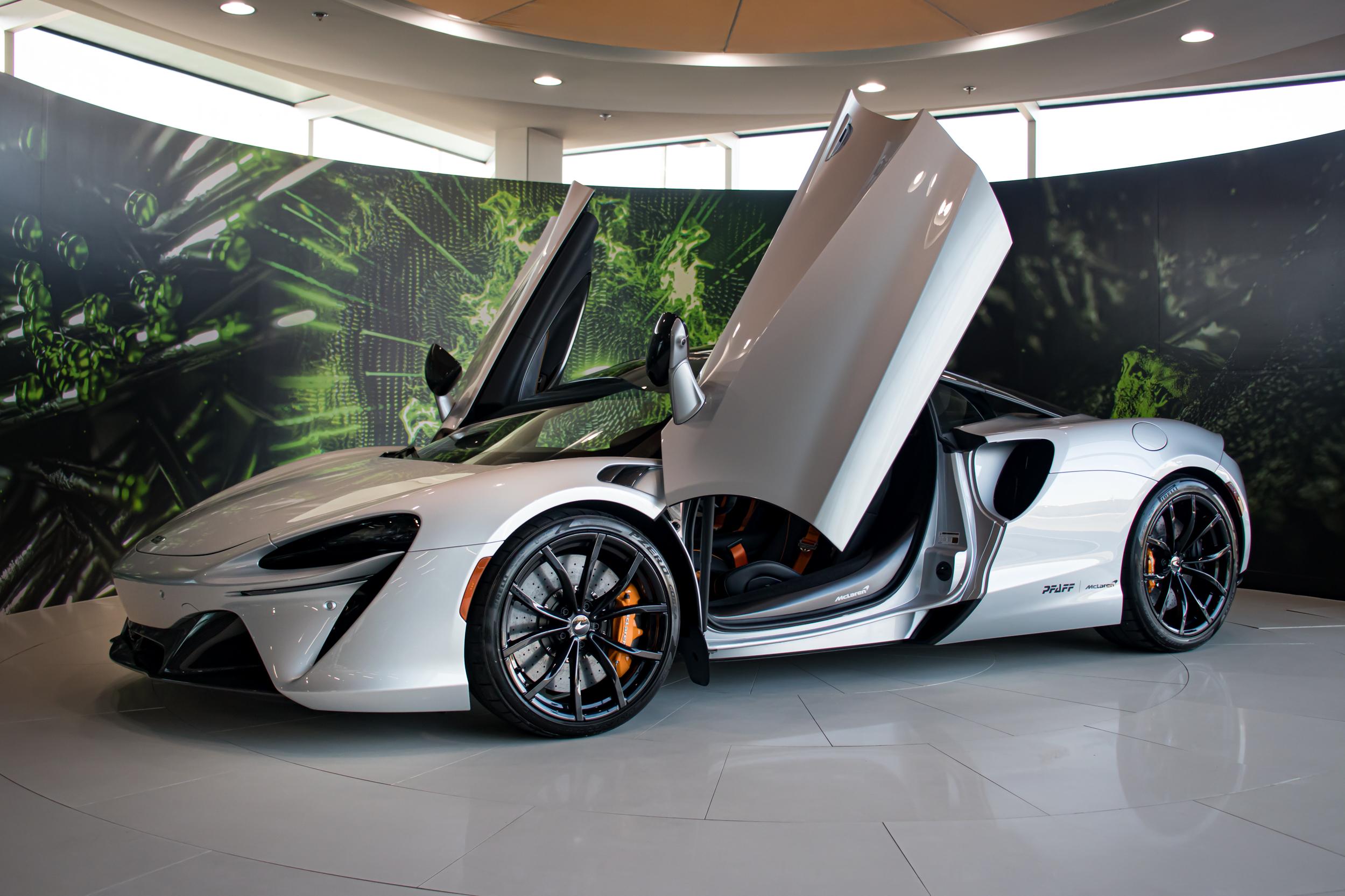 2021 McLaren Artura Doors Open