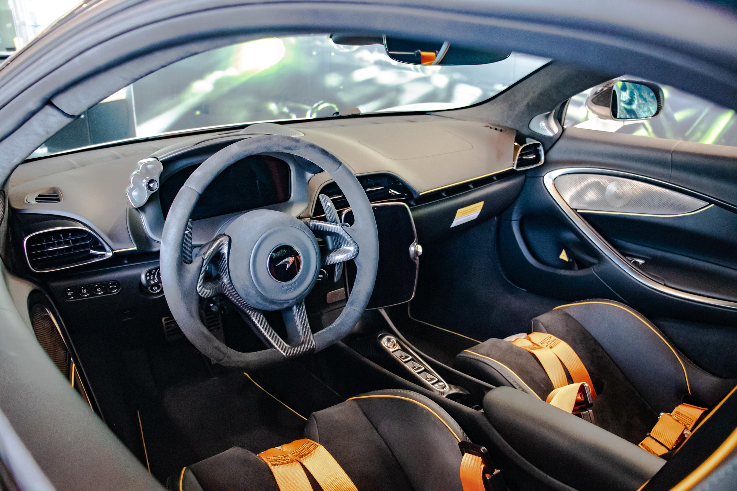 2021 McLaren Artura Interior